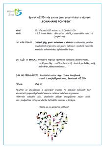 Pozvánka na jarní cvičení_POMÁHÁME POHYBEM